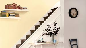 Paint Colours For Hallways And Stairs by Add Warmth And Light To A Hallway With Cream Dulux
