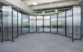 roomdivider 360 portable partition polycarbonate