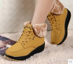 buy boots shoes 2018 boots zapatos mujer ankle boots for winter