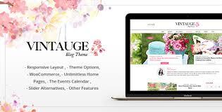 vintauge premium fashion u0026 lifestyle wordpress blog theme by