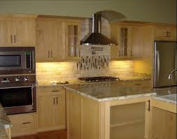 kitchen tumbled travertine tile backsplash honed kitchen ideas