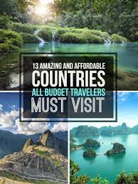 cheap travel destinations images 13 affordable countries that are perfect for budget travelers jpg