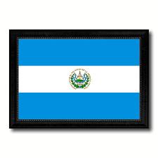 Flag El Salvador El Salvador Country Flag Home Decor Office Wall Art Collection