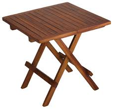 teak wood side table best small folding side table bare decor ravinia folding teak small