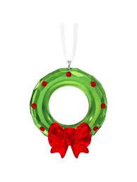 swarovski 2017 christmas wreath ornament