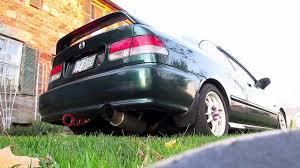 Honda Civic 2000 Specs Megan Racing Drift Spec Exhaust On U002799 Civic Ex Hd Youtube