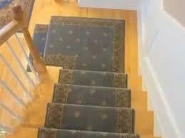 stair runner installation custom landing and