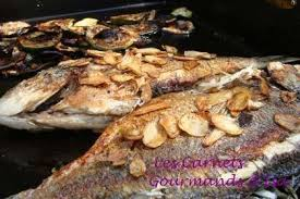 cuisine sur plancha cuisine a la plancha daurade a l espagnole recette ptitchef