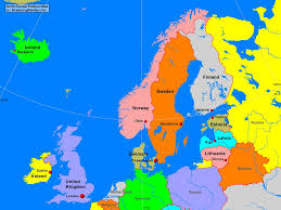 Europe Political Map Quiz by North Europe Map Thefreebiedepot