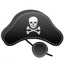 free coloring pages pirate eye patch template clip art library
