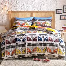 buy volkswagen vdub multi duvet cover set home focus at hickeys