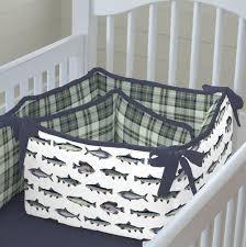 Fish Crib Bedding by Gone Fishing Crib Bedding Carousel Designs