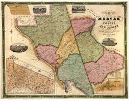 mercer map mercer county nj