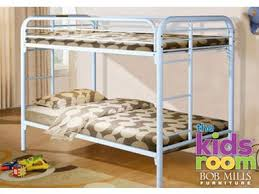 3 Way Bunk Bed Discovery Furniture Youth Bedroom Easton Red Twin Metal Bunkbed