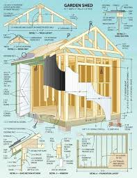 garden shed plan tool shed plans easy craft ideas garden simple lean to modern