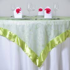 wedding linens for sale 10 embroidered organza 60x60 square table overlays wedding party
