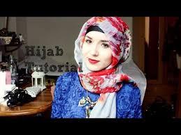 tutorial hijab nabiilabee hijab tutorial l simple elegant youtube