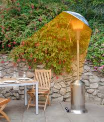 Free Standing Patio Heaters by Sahara Mirage 15kw Heat Focus Freestanding Lpg Gas Patio Heater