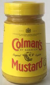 coleman s mustard colmans mustard 100g jolly grub