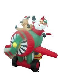 6 foot animated santa claus and