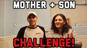 Mother And Son Meme - funny mother vs son challenge youtube