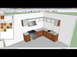 sketchup tutorial kitchen sketch up tutorial membuat kitchen set youtube