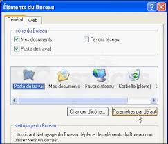 comment remettre la corbeille sur le bureau windows 7 restaurer les icônes par défaut windows xp