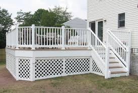 trex composite deck builder in frederick county albaugh u0026 sons