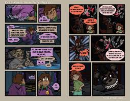 fnaf4 comic house party page 13 6 22 16 by mattartist25 on