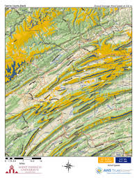 Eastern Pennsylvania Map by Pennsylvania Wind Maps St Francis University