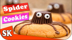 reeses spider halloween cookies youtube