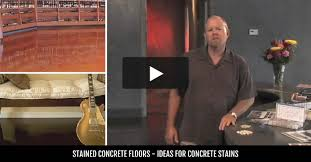 How To Stain A Concrete Basement Floor by Stained Concrete Concrete Acid Stain The Concrete Network