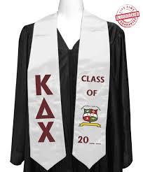 cheap graduation stoles official kappa delta chi kdchi graduation stole for bachelors