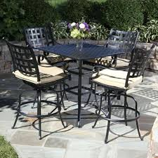 Glass Top Patio Tables Cool Bar Outdoor Table High Top Patio Table Set Glass Top Bar