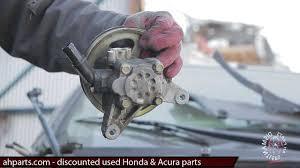 2007 honda odyssey power steering how to replace 2003 2004 2005 2006 2007 honda accord power