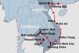Saigon On World Map by Cambodia Tours Travel U0026 Trips Peregrine Adventures Us
