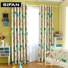 Yellow And Blue Curtains Yellow Blackout Curtains Skyline Linen Blackout Window Curtain