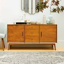 Narrow Sideboards And Buffets by Buffet Tables U0026 Sideboards West Elm