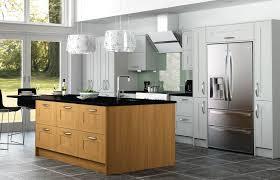 oak kitchen island units oak shaker kitchen island kitchen design
