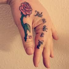 small and the beast tattoos popsugar uk