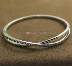 pandora style bracelet sterling silver images Dazzling pandora bangle bracelets charm compatible bracelet with jpg