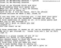 Lyrics To Count On Me Bruno Mars 6 Best Images Of Printable Lyrics To Bruno Mars Count On Me By