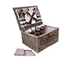 picnic basket for 4 4 person picnic basket blanket picnic basket shop