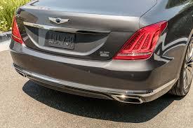 hyundai genesis back 2017 genesis g90 drive review luxury startup motor trend