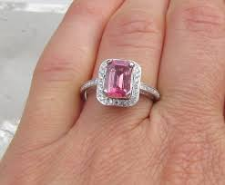 Pink Wedding Rings by Engagement Rings Kay Blue Diamond Ring 1 Carat Tw Princess Cut