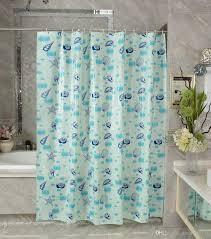 Curtain Cartoon by 2017 Waterproof Shower Curtain Peva Mildew Bathroom Curtains