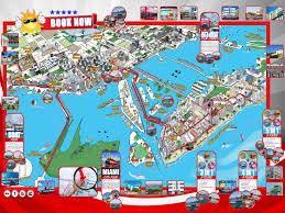 University Of Miami Map by Map Miami My Blog