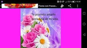 quotes en espanol del amor flores con frases de amor android apps on google play