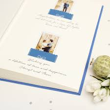wedding guest book photo album polaroid wedding guest book album royal blue with silver glitter