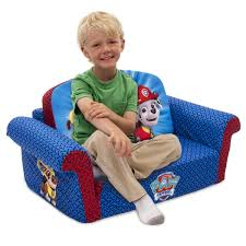 Kid Sofa Bed by Amazon Com Nickelodeon Paw Patrol Flip Open Sofa Couch Marshall